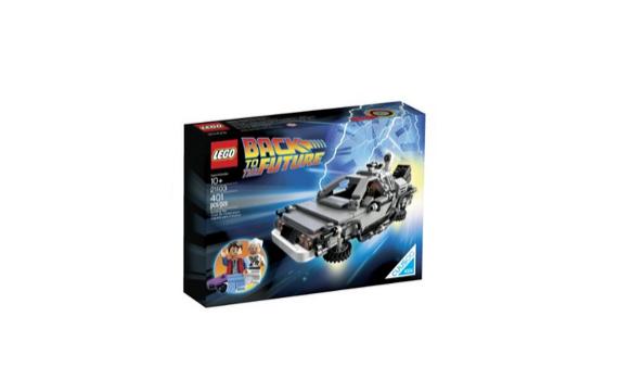 DeLorean aus Zurück in die Zukunft von LEGO