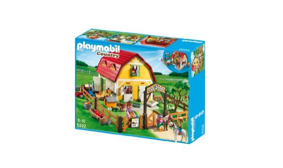 Bauernhof für Ponys von playmobil