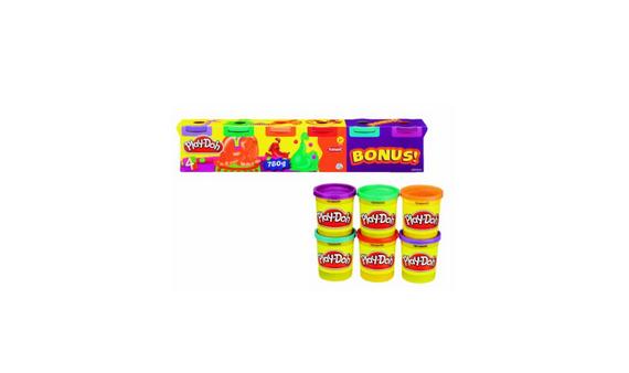 Knete in Neonfarben von Play-Doh