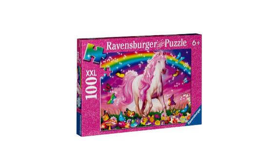 Pferdetraum Glitzerpuzzle