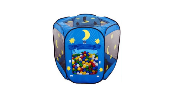 Spielzelt mit 500 Bällen