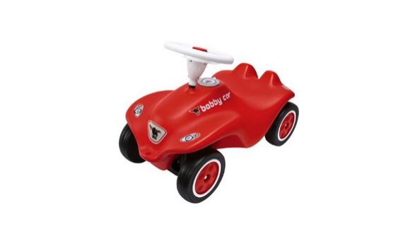 Das rote Bobby Car Rutschauto