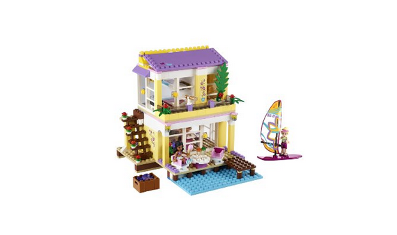 Lego Friends: Strandhaus von Stephanie
