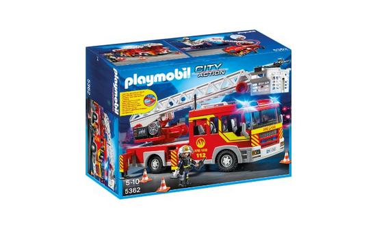Feuerwehr-Leiterfahrzeug von Playmobil