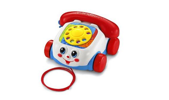 Kindertelefon zum Ziehen